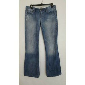 Joe's Jeans Heart Distressed Bootcut Jeans Sz 29